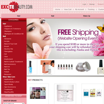 excite beauty inc.